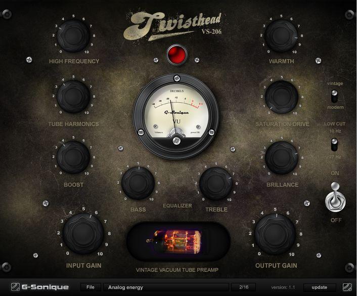 Twisthead VS-206