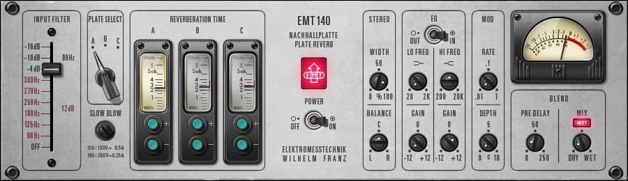 EMT 140 Classic Plate Reverberator
