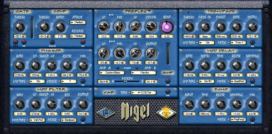 Kvr nigel by universal audio distortion overdrive amp vst nigel stopboris Image collections