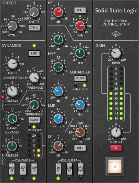 Kvr  Universal Audio Releases Official  U0026quot Ssl E Series