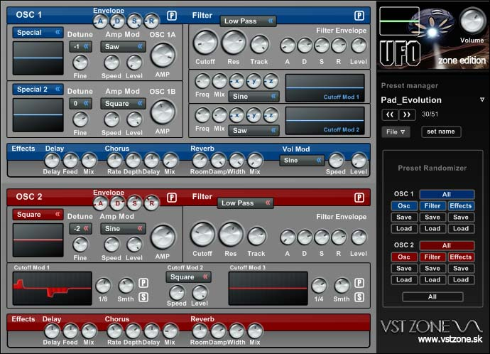 KVR: VST Zone releases U F O  Zone Edition v1 3 with 62 new presets