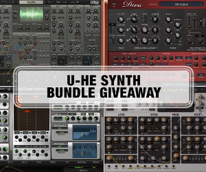 u-he Synth Bundle Giveaway