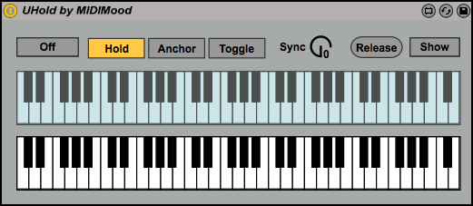 UHold: Useful Max For Live Note Hold