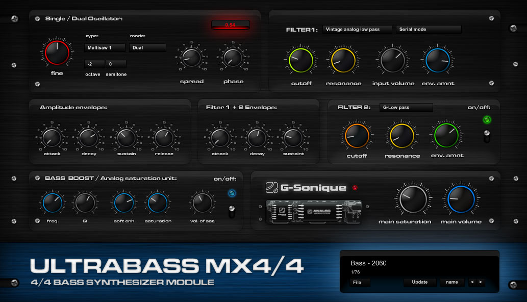 Ultrabass MX4/4