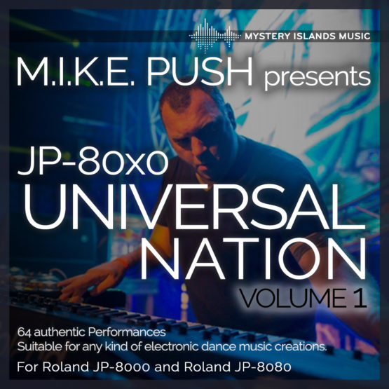 M.I.K.E. Push Presets JP-80x0 Universal Nation vol.1