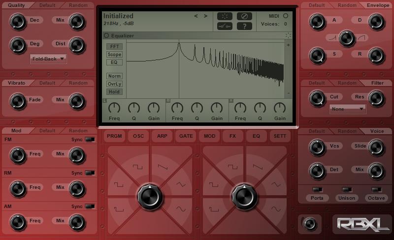 KVR: RBXL by Sound-Base Audio, LLC - Subtractive VST Plugin