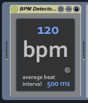 KVR: Real-Time MIDI BPM Detector by To the Sun - Utility