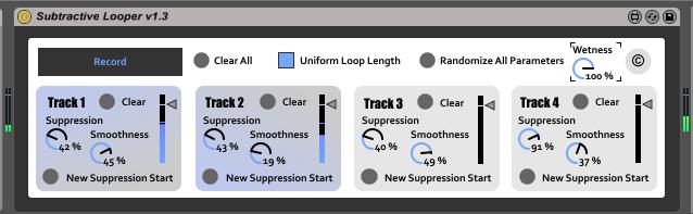 Subtractive Looper