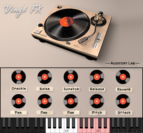 Auditory Lab Vinyl FX Plugin - (Pc/Mac VST, AU)