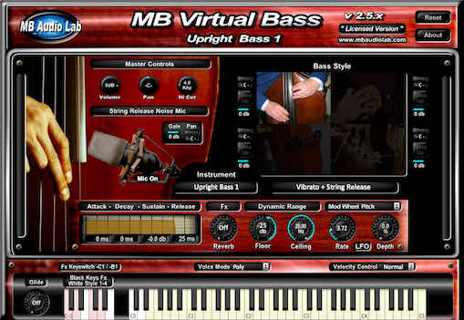 KVR: MB Virtual Bass Acoustic by MB Audio Lab - Bass VST