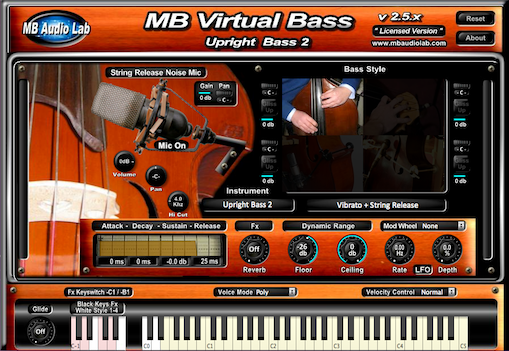 KVR: MB Virtual Bass Acoustic by MB Audio Lab - Bass VST Plugin