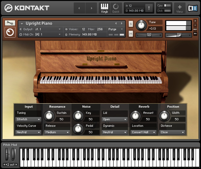 Kvr Native Instruments Releases 4 Acoustic Piano