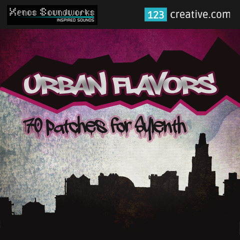 Urban Flavors - Sylenth presets with a strong downtempo vibe
