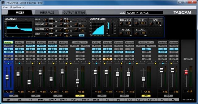 Kvr Tascam Unveils Us 16x08 Multichannel Audio Interface