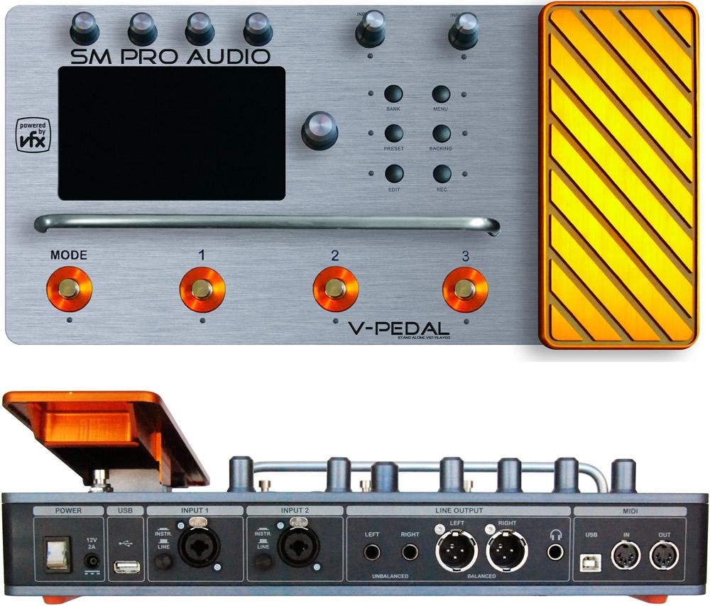 les multi -  effets V-pedal