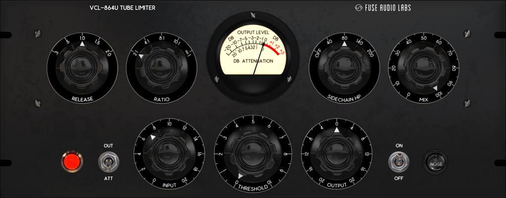 VCL-864U Vintage Tube Limiter/Compressor