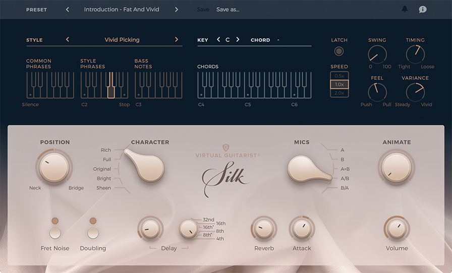 kvr virtual guitarist silk by ujam instruments guitar vst plugin audio units plugin and aax. Black Bedroom Furniture Sets. Home Design Ideas