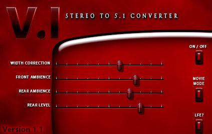 V.I Stereo to 5.1 Converter Suite