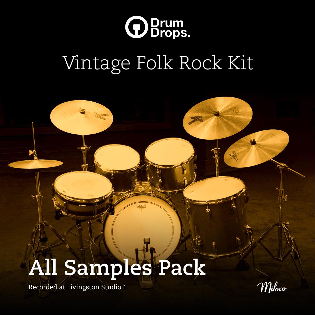 Vintage Folk Rock Kit - All Samples Pack
