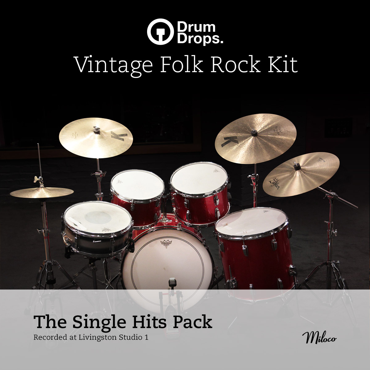 Vintage Folk Rock Kit - Single Hits Pack