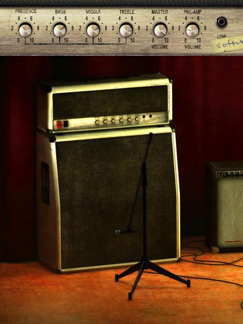 Vintage Amp Room