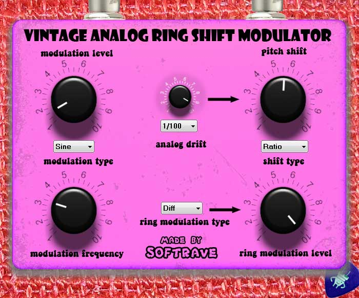 Vintage Analog Ring Shift Modulator VST 1.0