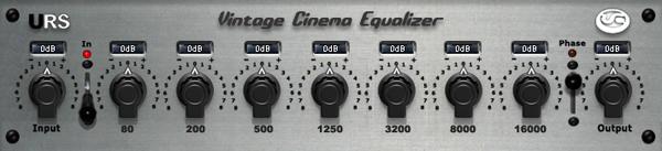 Vintage Cinema Equalizer