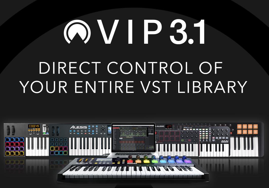 KVR: Akai Pro updates VIP to v3 1 adding new live