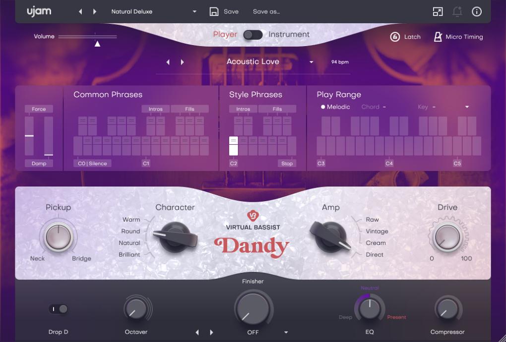 Virtual Bassist DANDY