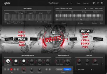 Virtual Drummer BRUTE