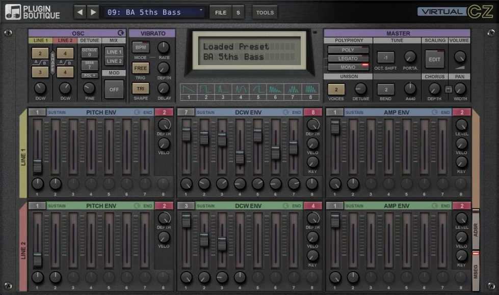 KVR: Plugin Boutique VirtualCZ Sound Library by Wagsrfm