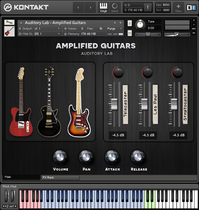 kvr amplified guitars auditory lab vst au aax by auditory lab electric guitar vst plugin. Black Bedroom Furniture Sets. Home Design Ideas