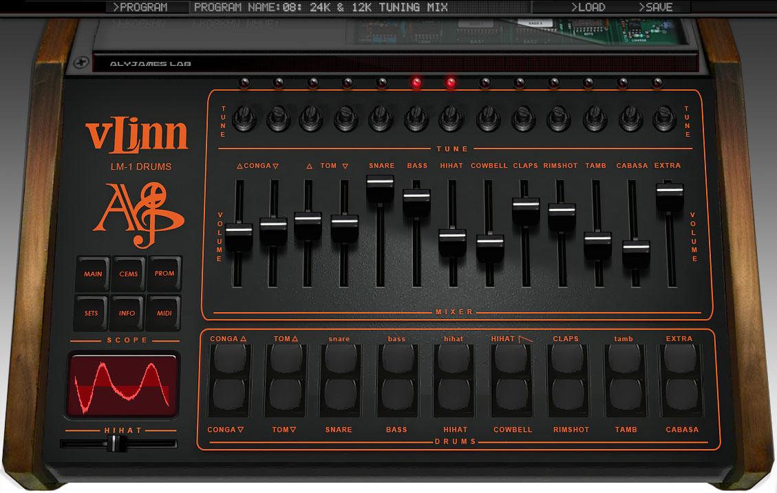 VLinn LM1 Drums
