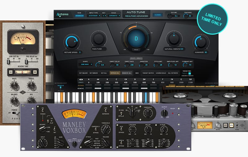 KVR: #KVRDeal Universal Audio Deal: Get Free Auto-Tune