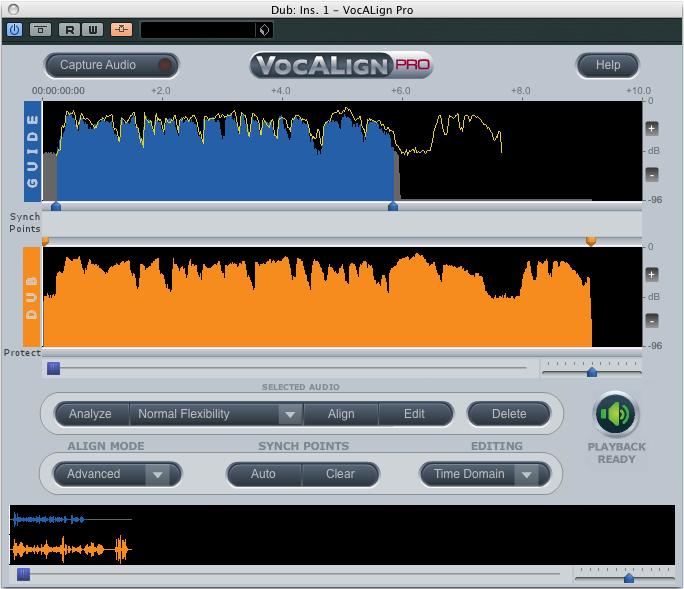 kvr synchro arts releases vocalign pro 4 vst3 plug in. Black Bedroom Furniture Sets. Home Design Ideas