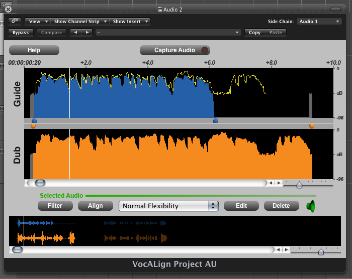 KVR: VocALign Project by Synchro Arts - Automatic Time Alignment