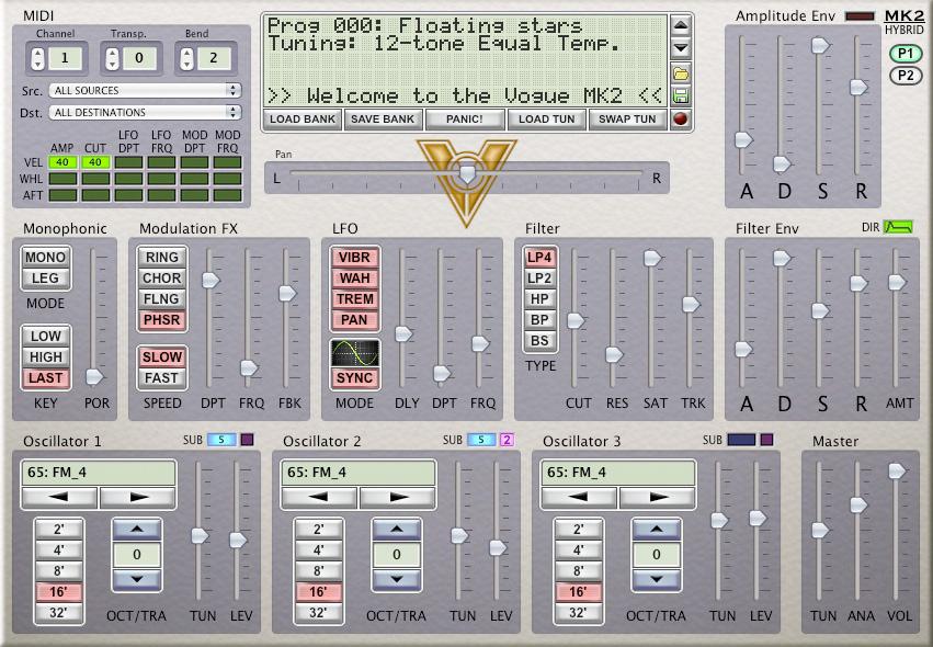 Vogue MK2 Synthesizer