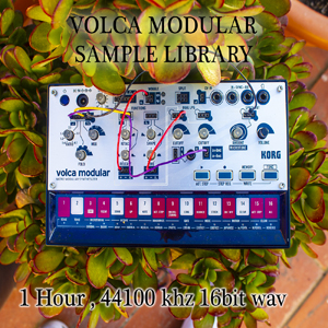 KORG Volca Modular sample library