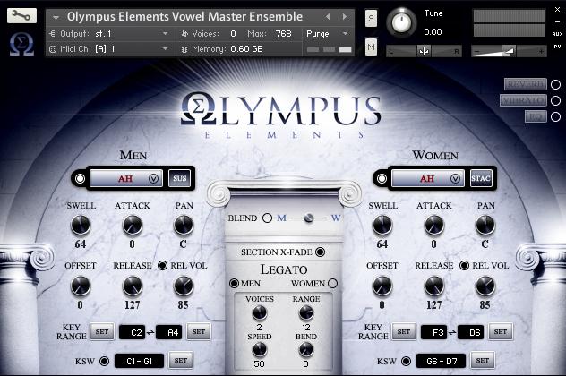 KVR: Olympus Choir Elements by Soundiron - Symphonic Choir VST