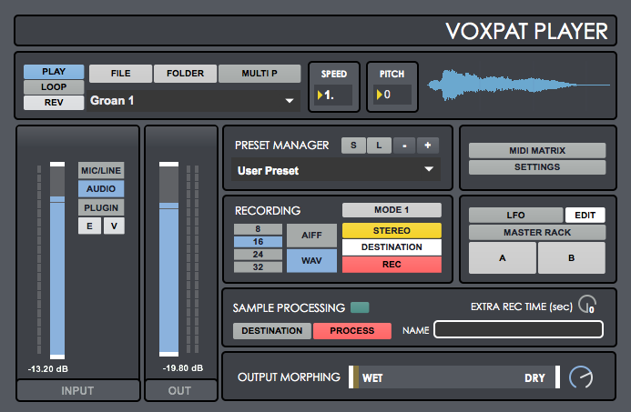 Voxpat Player