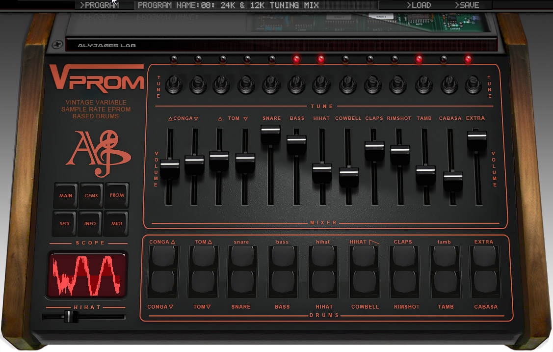 KVR: VProm by Aly James Lab - Drum Machine VST Plugin, Audio Units