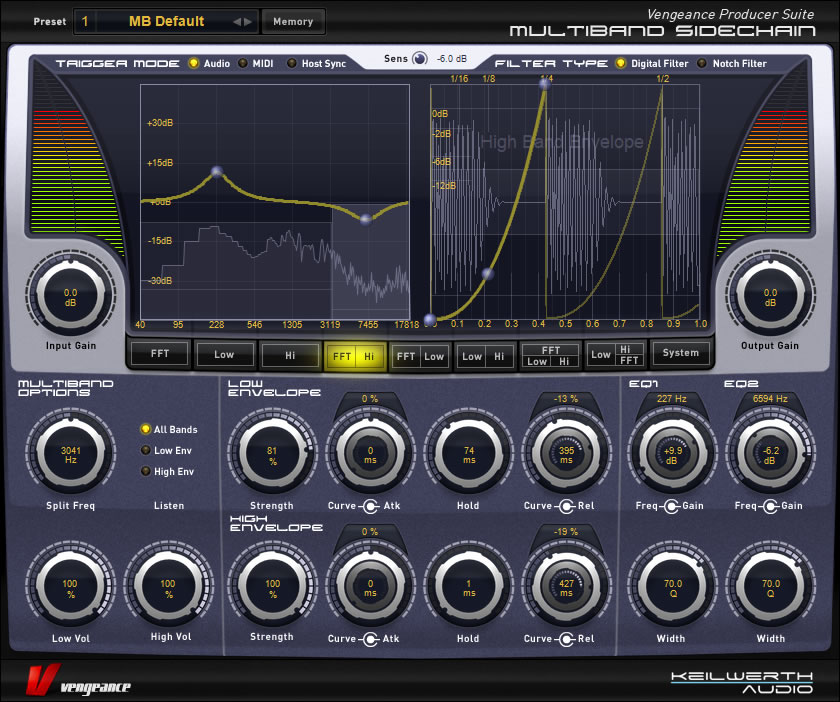 Vengeance Producer Suite - Multiband Sidechain