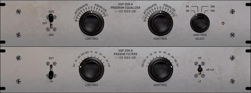 VQP-Bundle Vintage Passive EQ/Filters