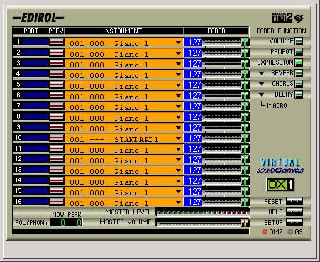 KVR: VSC-MP1 by EDIROL - Sound Module VST Plugin and DirectX Plugin