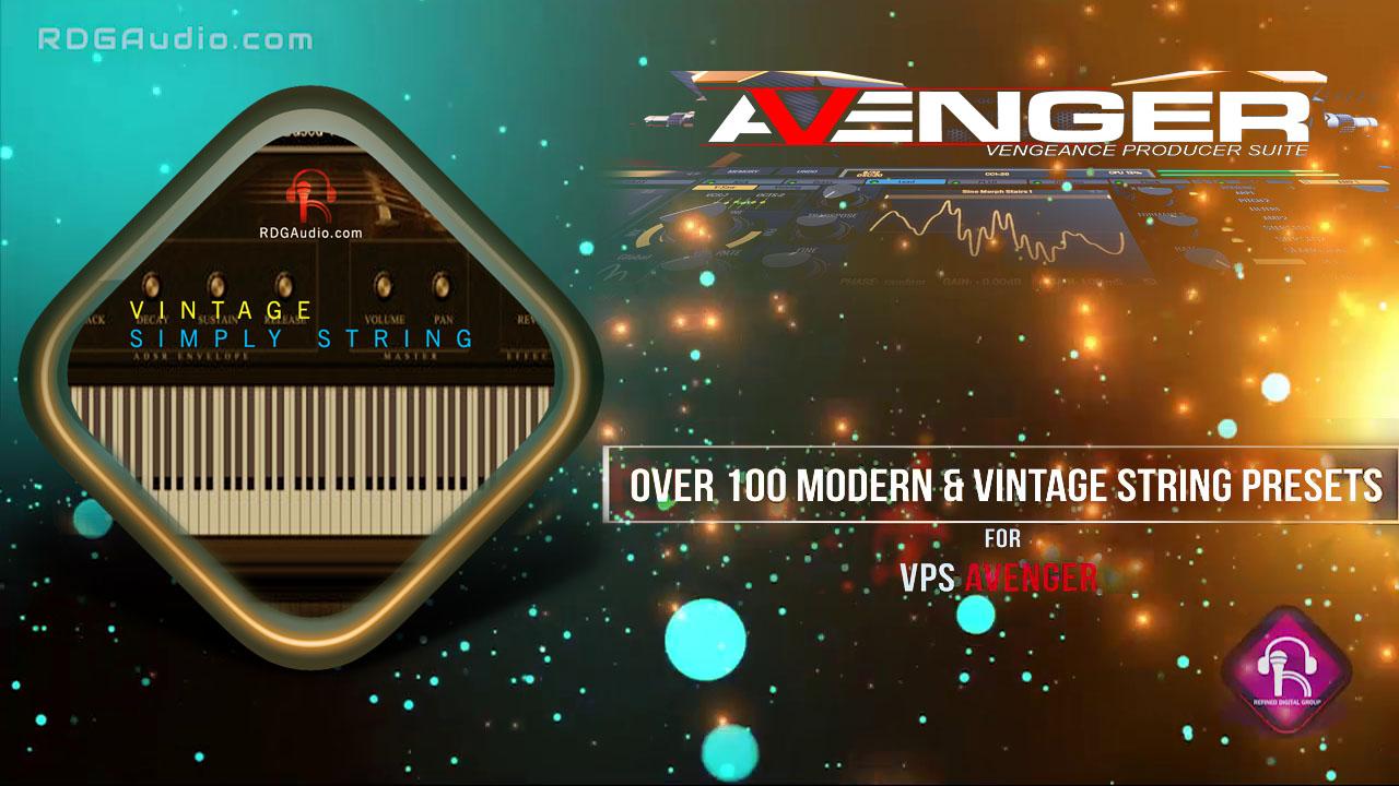KVR: Buy RDGAudio Vintage String VPS Avenger Expansion at the KVR