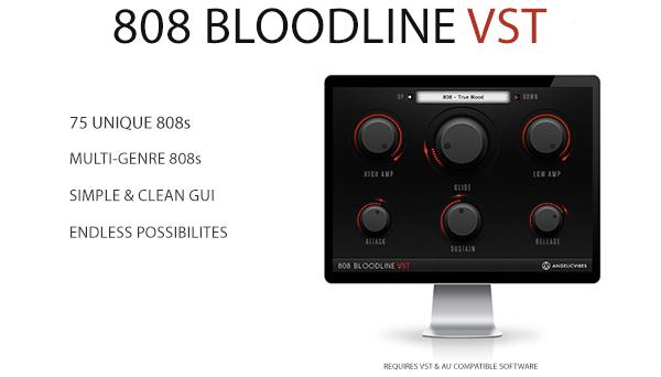 KVR: AngelicVibes releases 808 Bloodline VST / AU Plugin for Mac & Win