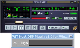 VST Host WinAmp Bridge