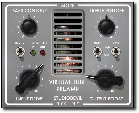 Virtual Tube Preamp (VTP)
