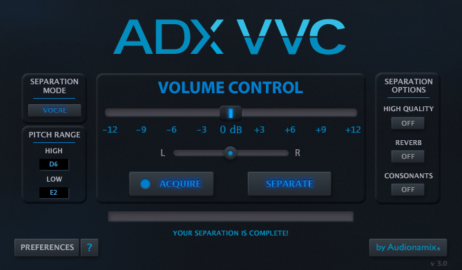 ADX VVC Vocal Volume Control