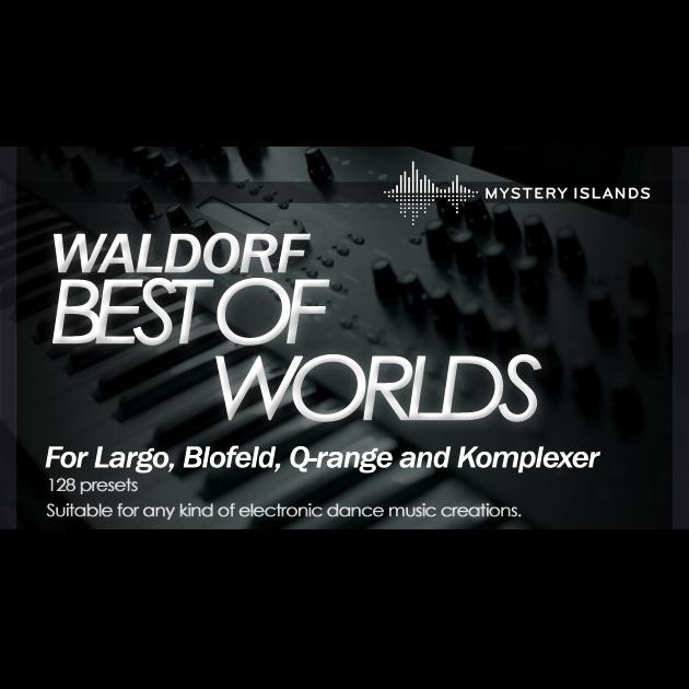 Preset bank Waldorf best of 2 worlds analog and digital
